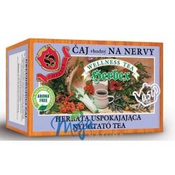Herbata uspokajająca system nerwowy 20 saszetek HERBEX