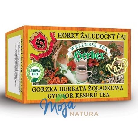 Gorzka herbata żołądkowa 20 saszetek HERBEX