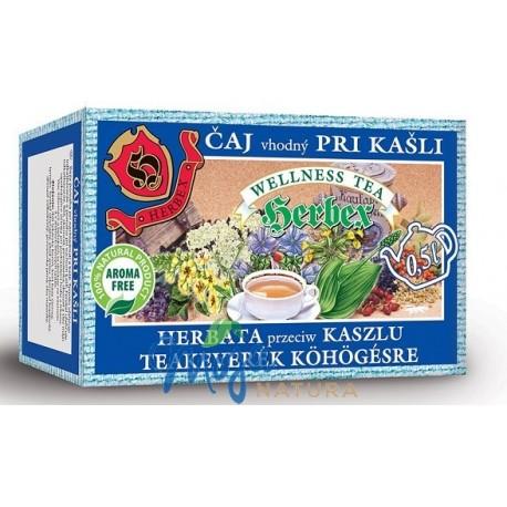 Herbata przeciw kaszlu 20 saszetek HERBEX