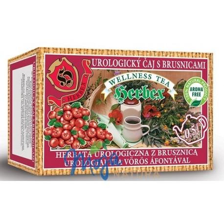 Herbata urologiczna z brusznicą 20 saszetek HERBEX