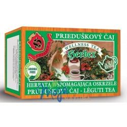 Herbata ziołowa wspomagająca udrożnienie oskrzeli 20 saszetek HERBEX