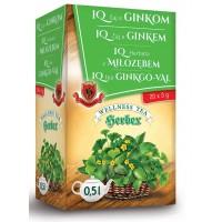 IQ herbata z miłorzębem 20 saszetek HERBEX