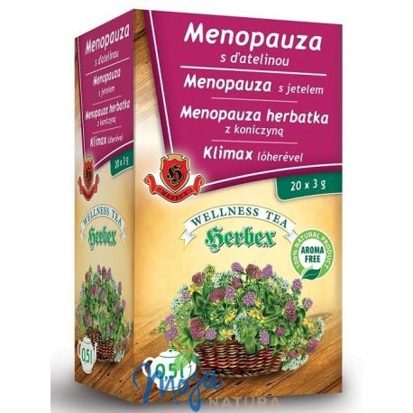 Menopauza herbatka z koniczyną 20 saszetek HERBEX