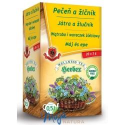 Wątroba i woreczek żółciowy 20 saszetek HERBEX