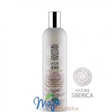 Balsam Do Zniszczonych I Osłabionych Włosów Ochrona I Energia 400ml NATURA SIBERICA