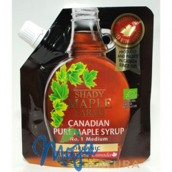 SYROP KLONOWY B BIO 166g(125ml) SHADY MAPLE FARMS