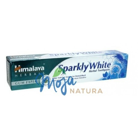 Ziołowa pasta do mycia zębów Lśniąca Biel Wybielająca 75ml HIMALAYA
