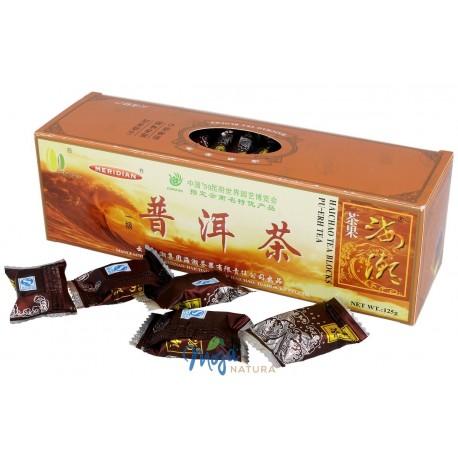 Herbata czerwona prasowana w kostkach 125g HAICHAO