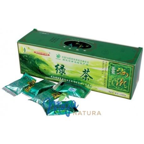 Herbata zielona prasowana w kostkach 125g HAICHAO