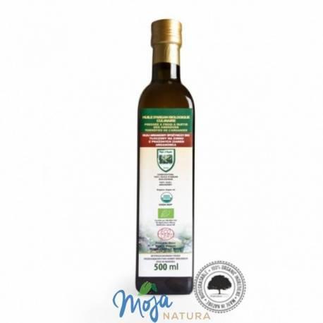 Olej arganowy spożywczy BIO butelka szklana 500ml EFAS
