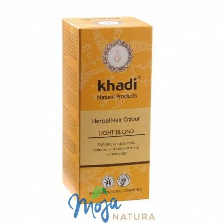 Naturalna Henna Jasny Blond 100g KHADI