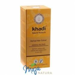 Naturalna Henna Średni Blond 100g KHADI