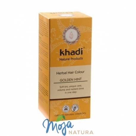 Naturalna Henna Złoty Blond 100g KHADI