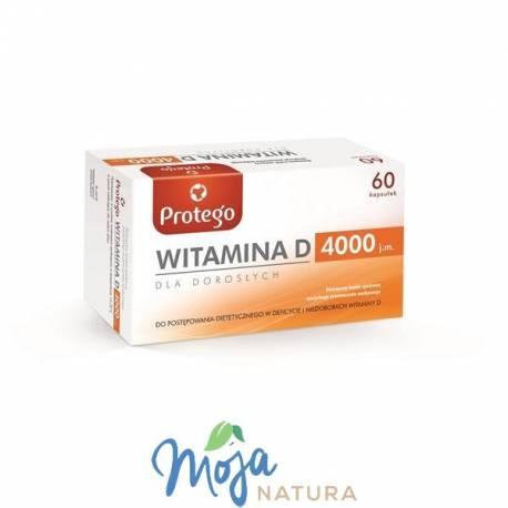 Protego Witamina D 4000 60kaps SALVUM