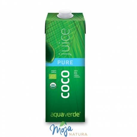 Woda kokosowa BIO 1000ml AQUA VERDE