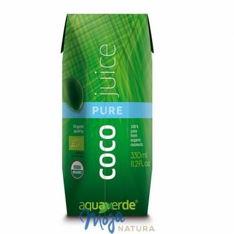 Woda kokosowa BIO 330ml AQUA VERDE