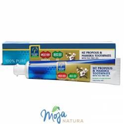 Pasta do zębów z Miodem Manuka MGO® 400+, Propolisem BIO30™ i olejkiem z Drzewa Herbacianego 100g MANUKA HEALTH