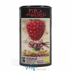 Czekolada na gorąco Komoe malinowa Fair Trade BIO 250g PIZCA DEL MUNDO