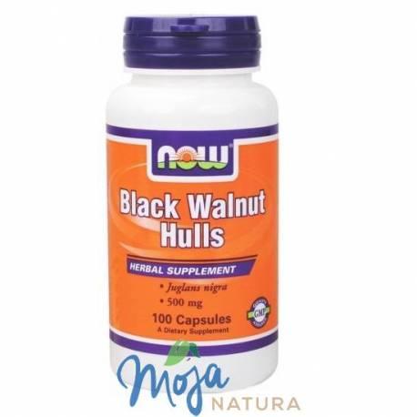 Black Walnut Hulls (Czarny orzech) 100kaps NOW