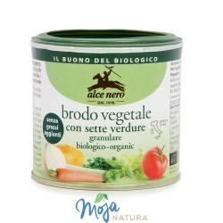 Bulion w proszku (wegetariański) BIO 120g ALCE NERO