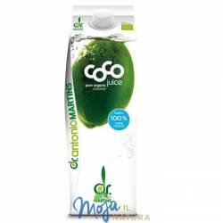 Woda kokosowa naturalna BIO 1000ml COCO