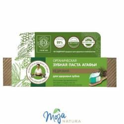 Pasta Do Zębów Agafji Organiczna – Cedrowa – Zdrowe Zęby 75ml BABUSZKI AGAFII