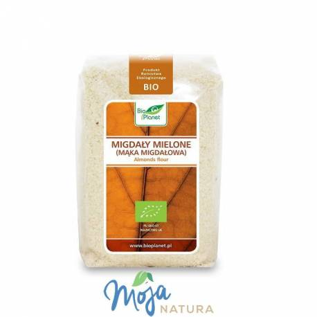 Migdały mielone (mąka migdałowa) BIO 250g BIO PLANET