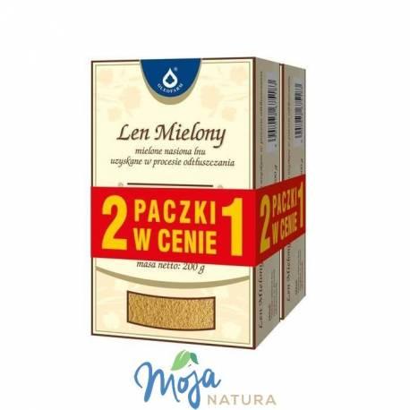 Len mielony 2x200g OLEOFARM