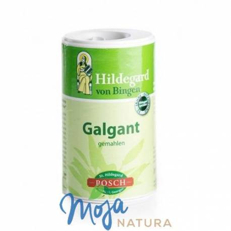 Galgant korzeń mielony 40g HILDEGARD-POSCH