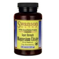 Cytrynian magnezu 120tabl SWANSON