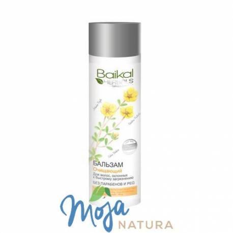 Balsam oczyszczający do włosów szybko przetłuszczających się 280ml BAIKAL HERBALS