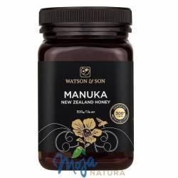 Miód Manuka 300+MGO Certyfikowany 500g WATSON & SON