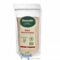 Mąka amarantusowa bezglutenowa BIO 350g AMARELLO