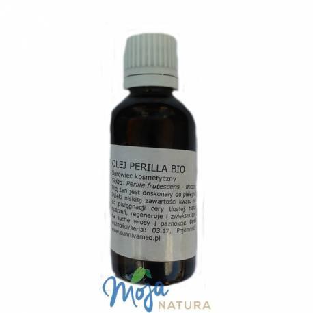 Olej Perilla ekologiczny, tłoczony na zimno 50ml SUNNIVA MED