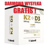 Witamina K2 MK7 + D3 90kaps LABORELL