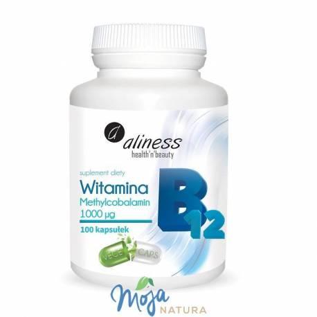 Witamina B12 Methylcobalamin 1000µg 100kaps MEDICALINE