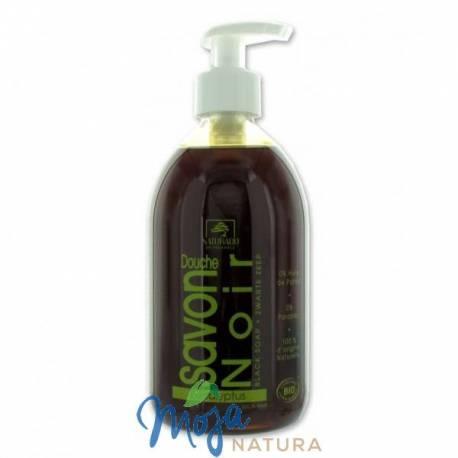 Czarne mydło w płynie Savon Noir z eukaliptusem 500ml NATURADO