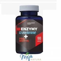 Enzymy trawienne + Probiotyk 180kaps HEPATICA