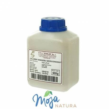 Chlorek Magnezu Sześciowodny Czysty do analizy 500g STANLAB