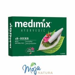 Medimix mydełko ajurwedyjskie 18 ziół 125g CHOLAYIL