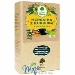 Herbatka z kurkumą EKO 25x2g DARY NATURY