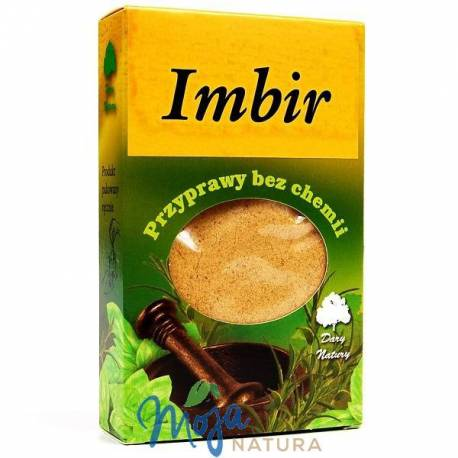 Imbir mielony 60g DARY NATURY