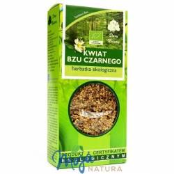 Bez czarny kwiat herbatka ekologiczna 50g DARY NATURY
