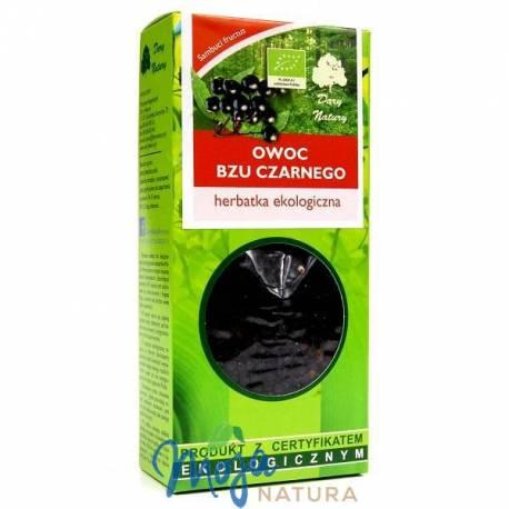 Bez czarny owoc herbatka ekologiczna 100g DARY NATURY