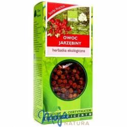 Jarzębina owoc herbatka ekologiczna 50g DARY NATURY