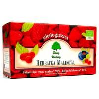 Malinowa Eko herbatka 60g DARY NATURY