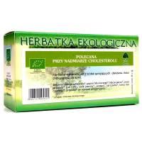 Przy nadmiarze cholesterolu Eko herbatka 40g DARY NATURY