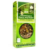 Wspomagająca pracę wątroby Eko herbatka 50g DARY NATURY