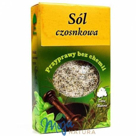Sól czosnkowa 90g DARY NATURY