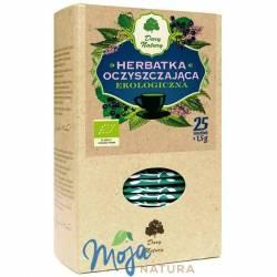 Herbatka oczyszczająca EKO 25x1,5g DARY NATURY